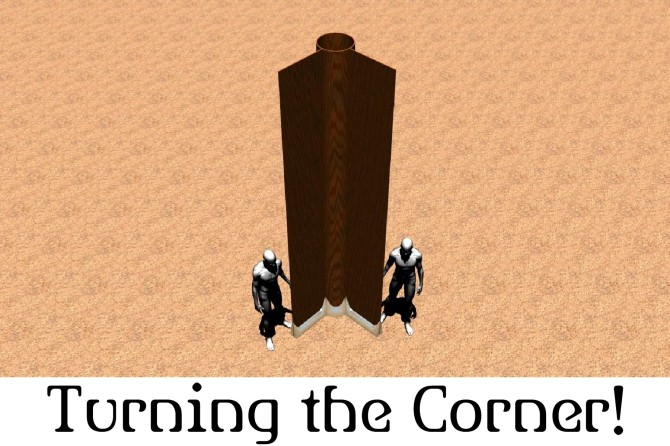 Turning the corner