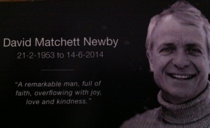 A Tribute to My Brother- David Newby