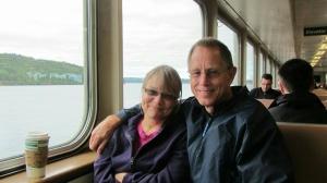 Tony Murray with his lovely wife, Joyce