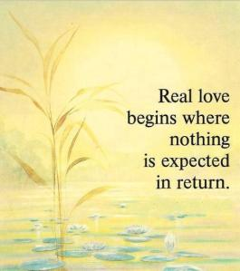 love expect
